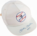 "Autographs:Others, Mickey Mantle ""NO. 7"" Signed Hat. . ..."
