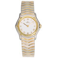 Estate Jewelry:Watches, Ebel Lady's Stainless Steel, Electroplated Gold Wristwatch. ...