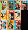 Baseball Cards:Lots, 1960 Topps Baseball Collection (453) With Stars & HoFers. ...