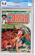 Bronze Age (1970-1979):Superhero, Conan the Barbarian #45 (Marvel, 1974) CGC NM 9.4 White pages....