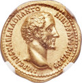 Ancients:Roman Imperial, Ancients: Antoninus Pius (AD 138-161). AV aureus (20mm, 7.41 gm, 6h). NGC Choice AU 5/5 - 3/5....