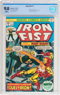 Iron Fist #1 (Marvel, 1975) CBCS NM/MT 9.8 White pages