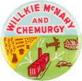 Political:Pinback Buttons (1896-present), Wendell Willkie: Classic Chemurgy Button....