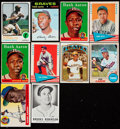 Baseball Cards:Lots, 1955 - 1975 Topps, Fleer and Leaf Baseball Collection (98). ...