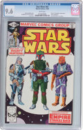 Modern Age (1980-Present):Science Fiction, Star Wars #42 (Marvel, 1980) CGC NM+ 9.6 White pages....
