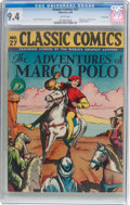 Golden Age (1938-1955):Classics Illustrated, Classic Comics #27 (Gilberton, 1946) CGC NM 9.4 White pages....