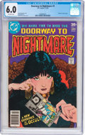 Bronze Age (1970-1979):Horror, Doorway to Nightmare #1 (DC, 1978) CGC FN 6.0 Off-white pages....
