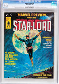 Magazines:Science-Fiction, Marvel Preview #4 Star-Lord (Marvel, 1976) CGC NM- 9.2 Off-white towhite pages....