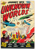 Golden Age (1938-1955):Science Fiction, Journey Into Unknown Worlds #36 (#1) (Atlas, 1950) Condition: FN-....