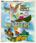 Animation Art:Poster, The Rescuers Store Offer Promotional Film Poster (Walt Disney, 1977)....