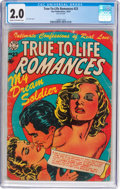 Golden Age (1938-1955):Religious, True-To-Life Romances #23 (Star Publications, 1954) CGC GD 2.0 Cream to off-white pages....
