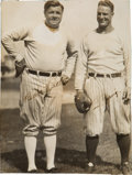Baseball Collectibles:Photos, Early 1930's Babe Ruth & Lou Gehrig Signed Photograph.. ...
