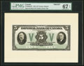 Canadian Currency, Toronto, ON- Imperial Bank of Canada $5 11.1.1933 Ch. #375-20-02aFPFront Proof with Portrait Vignettes.. ... (Total: 3 notes)