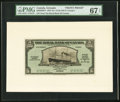 Canadian Currency, St. George's, Grenada- The Royal Bank of Canada $5 1.3.1938 Ch.#630-50-02FP and #630-50-02BP Front & Back Proofs.. ... (Total:2 notes)