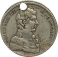 Political:Tokens & Medals, William Henry Harrison: 1836 Campaign Medal in German Silver....