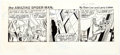 Larry Lieber The Amazing Spider-Man Daily Comic Strip Original Art dated 12-1-80 Comic Art