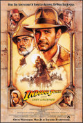"Movie Posters:Action, Indiana Jones and the Last Crusade (Paramount, 1989). One Sheet (27"" X 40"") Advance Style A. Drew Struzan Artwork. Action.. ..."
