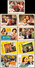 """Movie Posters:Action, Northwest Passage & Others Lot (MGM, R-1950). Title Lobby Cards (3), Lobby Cards (17) (11"""" X 14""""), One Sheets (4) (27"""" X 41""""... (Total: 25 Items)"""