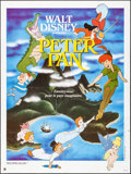 """Movie Posters:Animation, Peter Pan & Others Lot (Walt Disney Productions, R-1986). French Grandes (2) (47"""" X 63"""" & 43"""" X 62""""), & One Sheets (3) (27"""" ... (Total: 5 Items)"""