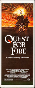 """Movie Posters:Adventure, Quest for Fire & Other Lot (20th Century Fox, 1982). Inserts (2) (14"""" X 36""""). Adventure.. ... (Total: 2 Items)"""