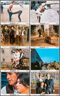 "Movie Posters:Western, Butch Cassidy and the Sundance Kid (20th Century Fox, R-1973). Mini Lobby Card Set of 8 (8"" X 10"") & Lobby Card (11"" X 14"").... (Total: 9 Items)"