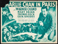 "Movie Posters:Mystery, Charlie Chan in Paris & Other Lot (Fox, 1935). Herald(Unfolded, 9"" X 12"") & Photos (3) (8"" X 10""). Mystery.. ...(Total: 4 Items)"
