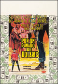 """Movie Posters:Western, A Fistful of Dollars (Asocines, 1967). Full Bleed Columbian Poster (27"""" X 39.5"""") Willz Yepos Artwork. Western.. ..."""