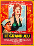 "Movie Posters:Foreign, Flesh and the Woman (Cinedis, 1954). French Grande (45.75"" X 62"") Boris Grinsson Artwork. Foreign.. ..."