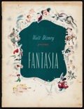 "Movie Posters:Animation, Fantasia (RKO, 1940). Program (32 Pages, 9.75"" X 12.75"").Animation.. ..."