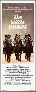 """Movie Posters:Western, The Long Riders & Other Lot (United Artists, 1980). Inserts (2) (14"""" X 36""""). Western.. ... (Total: 2 Items)"""
