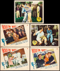 "Movie Posters:Sports, Hold 'em Navy & Other Lot (Paramount, 1937). Lobby Cards (5) (11"" X 14""). Sports.. ... (Total: 5 Items)"