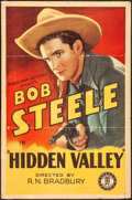 "Movie Posters:Western, Hidden Valley (Monogram, 1932). One Sheet (27"" X 41""). Western....."