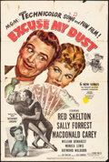 """Movie Posters:Comedy, Excuse My Dust (MGM, 1951). One Sheet (27"""" X 41""""). Comedy.. ..."""