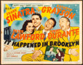 """Movie Posters:Musical, It Happened in Brooklyn (MGM, 1947). Half Sheet (22"""" X 28"""") Style A. Musical.. ..."""