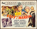 "Movie Posters:Comedy, Lost in a Harem (MGM, 1944). Half Sheet (22"" X 28""). Comedy.. ..."