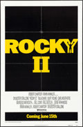 "Movie Posters:Sports, Rocky II & Other Lot (United Artists, 1979). One Sheets (3) (27"" X 41"") Advance & Regular Styles. Sports.. ... (Total: 3 Items)"