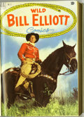 Golden Age (1938-1955):Western, Wild Bill Elliott Bound Volumes (Dell, 1950-55). These are WesternPublishing file copies which have been trimmed and bound ... (2 )
