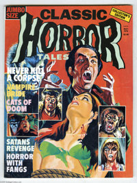 Horror Tales V7#2 (Eerie, 1976) Condition:VF+. 114 pages of far-out horror tales. Overstreet 2005 VF 8.0 value = $22; VF...