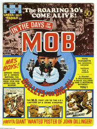 """In the Days of the Mob #1 (DC, 1971) Condition: VF+. Includes John Dillinger """"wanted"""" poster. Jack Kirby cover..."""