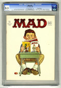 """Magazines:Mad, Mad #101 Gaines File pedigree (EC, 1966) CGC VF+ 8.5 Off-white towhite pages. Infinity cover by Norman Mingo. """"Voyage to th..."""