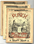 Magazines:Humor, Punch Group (Punch, 1936). Three issues of the seminal British humor publication. Included here are the June 3, 1936 issue (...