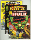 Bronze Age (1970-1979):Superhero, Rampaging Hulk Group (Marvel, 1977-81) Condition: Average NM. The Hulk smashes in this titanic group lot. Included in the lo... (23 Comic Books)