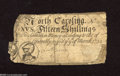 Colonial Notes:North Carolina, North Carolina March 9, 1754 15s About Good. This scarce Colonialhas been contemporarily backed and it is also missing some...