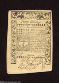 Colonial Notes:Rhode Island, Rhode Island May 1786 30s About New. A lightly circulated piece ofcolonial paper money....