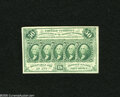 Fractional Currency:First Issue, Fr. 1312 50c First Issue Choice New. Wide margins run around this Fr. 1312 well outside the frame line. A corner tip nick is...