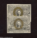 Fractional Currency:Second Issue, Fr. 1284 25c and Fr. 1317 50c Second Issue New. An interesting pair as the Fr. 1284 appears to be a Choice New note with goo... (2 notes)