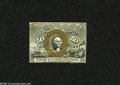 Fractional Currency:Second Issue, Fr. 1314SP 50c Narrow Margin Face Second Issue Specimen New. The upper right-hand corner has been replaced on this specimen....