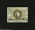 Fractional Currency:Second Issue, Fr. 1318 50c Second Issue New. Bright bronzing and a vivid red back highlight this surcharged note that is centered a touch ...