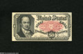 Fractional Currency:Fifth Issue, Fr. 1381 50c Fifth Issue New. A corner tip fold is coaxed out fromhiding on this note....