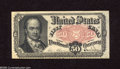 Fractional Currency:Fifth Issue, Fr. 1381 50c Fifth Issue Extremely Fine. A lightly circulatedCrawford note with some old mounting tabs and a pinhole in the...